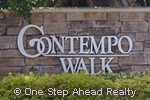 sign for Contempo Walk