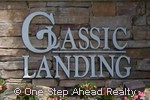sign for Classic Landings