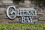 sign for Cherry Bay