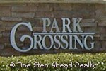 sign for Park Crossing