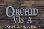 sign for Orchid Vista